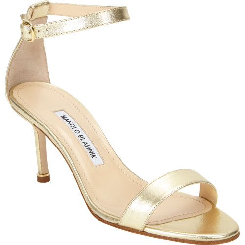 Manolo Blahnik Chaos Ankle-strap Sandal at Barneys.com