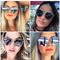 Frame style fashion women sunglasses - 7 colors   awesome world - online store