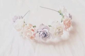 hair accessory flowers