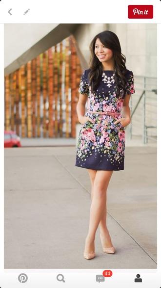 dress nav floral sleeves