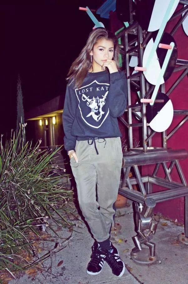 Sweater Lost Kats Zendaya Zendaya Zendaya Swag Girly