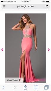 dress,pink prom dress,pink,prom dress,shoes,nude,point,high,desperate,girl,women,urgent,dressy,cute,hot,nude high heels,pointy heels