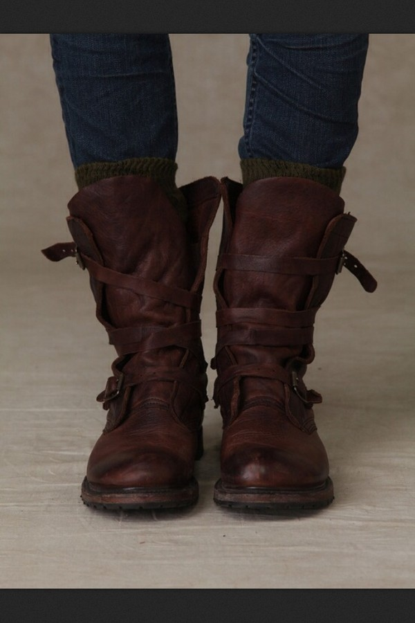 Brown Leather Boots Mens Fashion