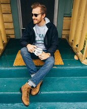 stay classic,blogger,jacket,sweater,jeans,shoes,sunglasses,jewels,menswear,mens jacket,mens shoes
