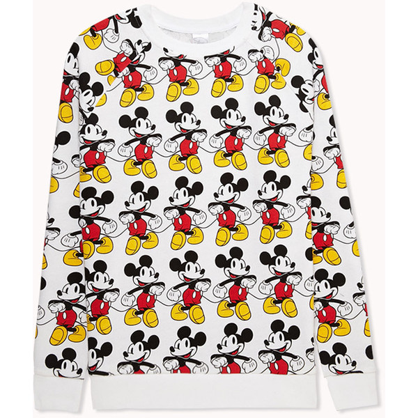 FOREVER 21 Mickey Mouse© Raglan Sweatshirt - Polyvore
