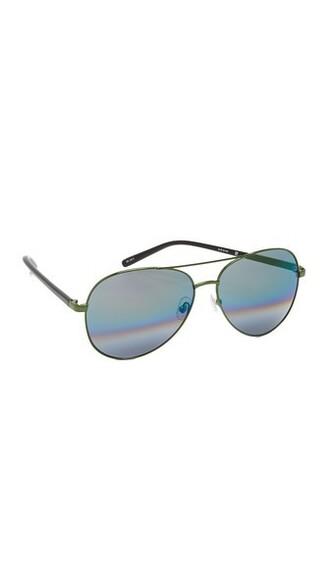 rainbow forest sunglasses aviator sunglasses green forest green