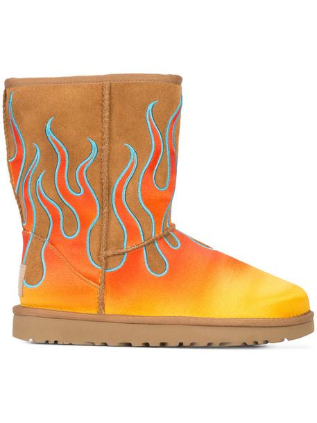 jeremy scott women brown shoes