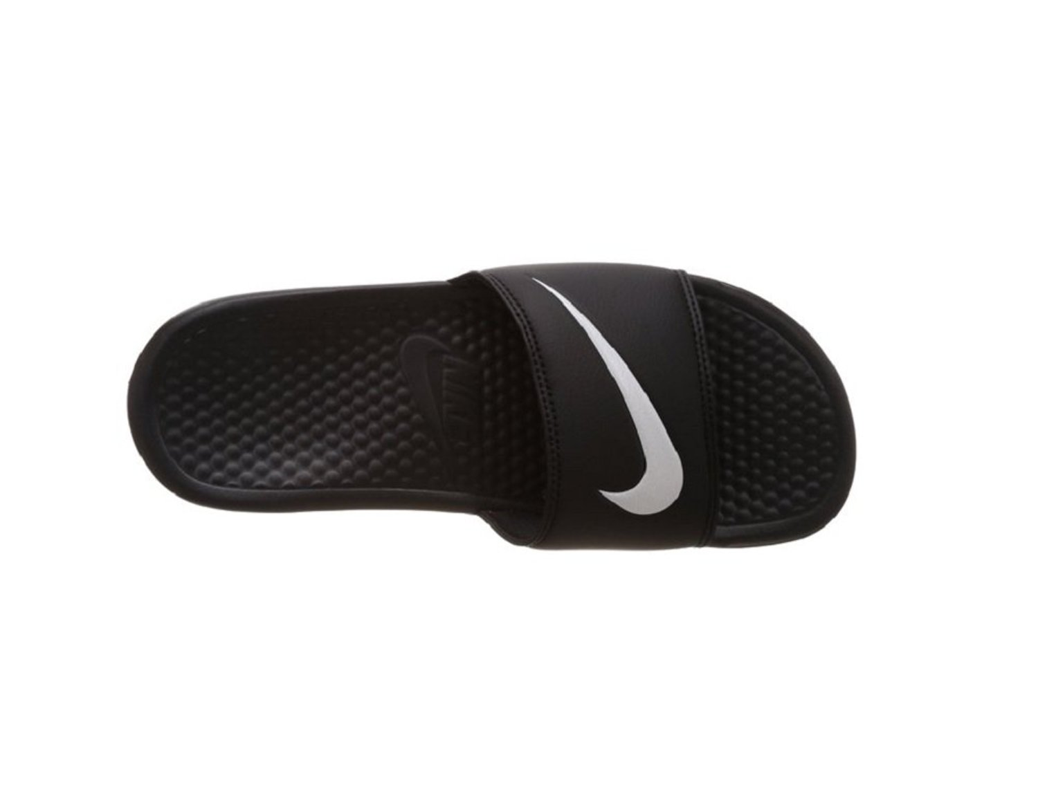 dbd7833fdd2b5 Amazon.com | Nike Womens Benassi Swoosh Slides #312432-010 (5) | Slippers