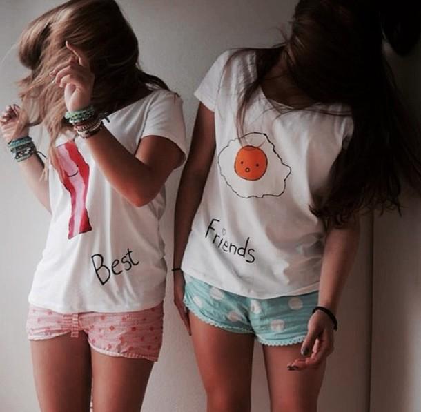 t-shirt best friend shirts