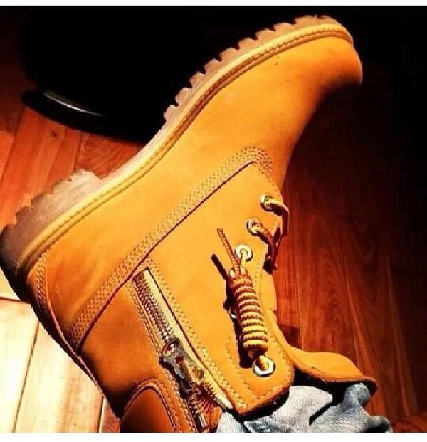 shoes timberlands zip dope
