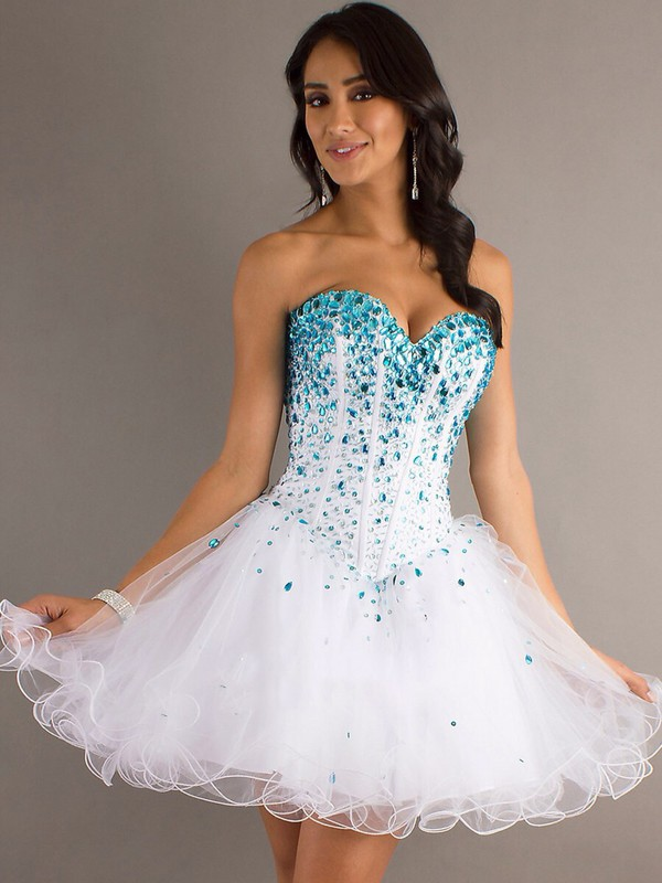 sequin dress white corset dress turquoise