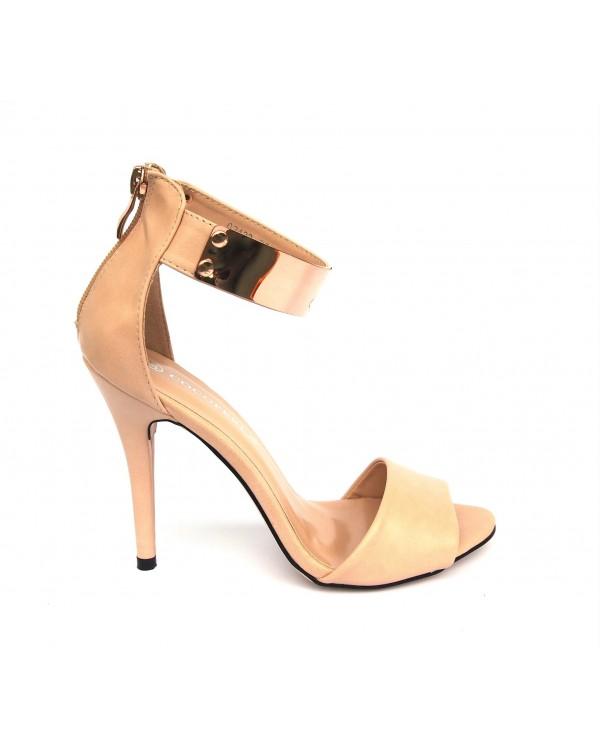 Sandały Gold Chic Beige