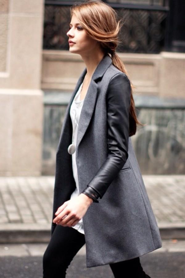jacket leather jacket black jacket