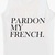Pardon My French Unisex Vest