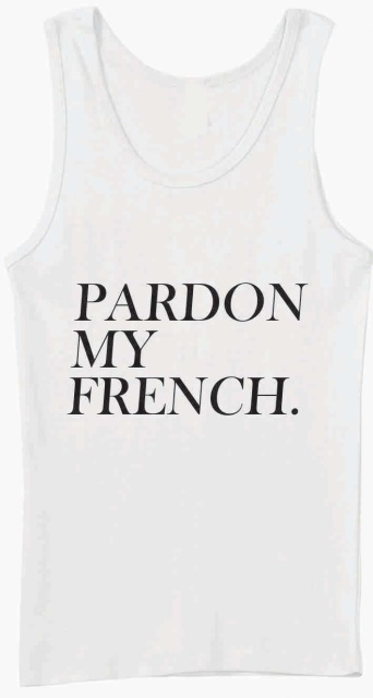 Pardon My French Unisex Vest