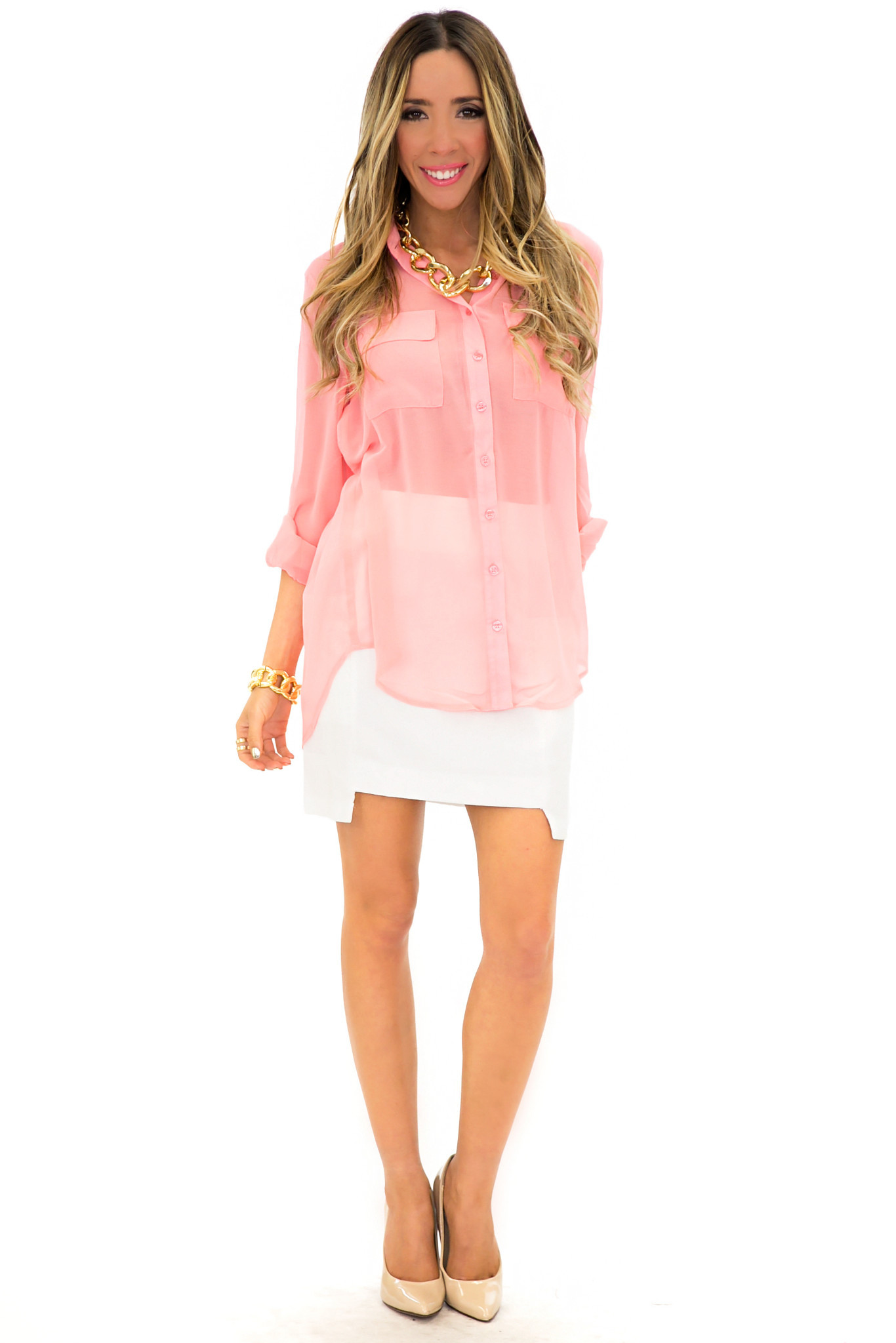 PIPER CHIFFON BLOUSE | Haute & Rebellious