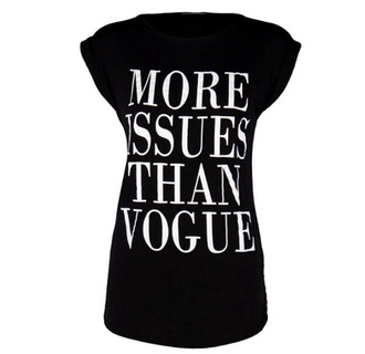 black and white shirt black and white white white and black shirt more issues than vogue more issues than vogue top shirt t-shirt