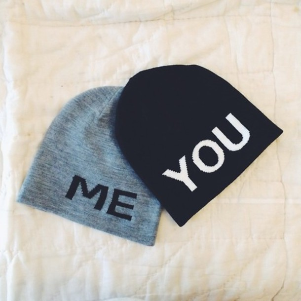 Hat Clothes Swag Black Matching Couples Valentines Day Gift Idea