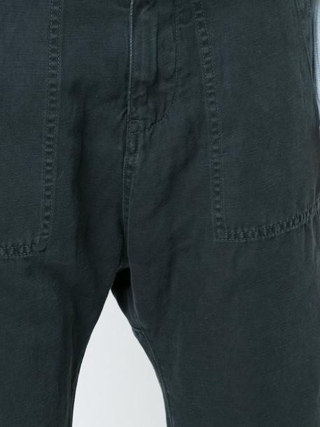 Nili Lotan pants cropped pants cropped women cotton black