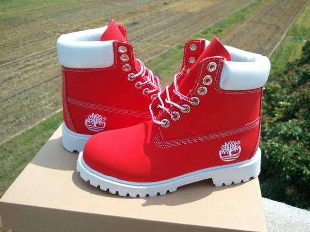 Crimson Colored Shoes