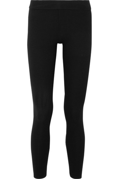 James Perse leggings black knit pants