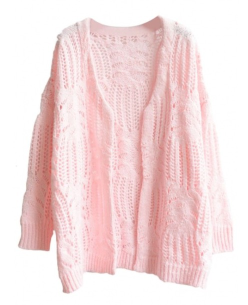 cardigan knitwear pink fashion style trendy light pink long sleeves beautifulhalo