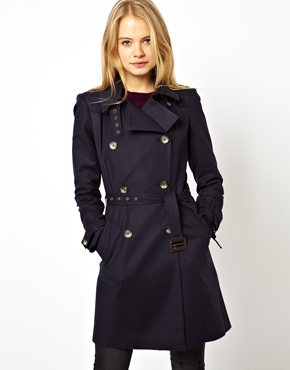 ASOS | ASOS Premium Trench With Panel Detail at ASOS