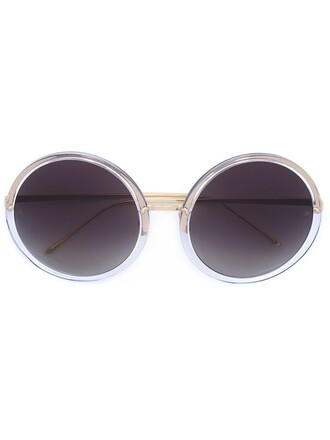 metal women sunglasses white