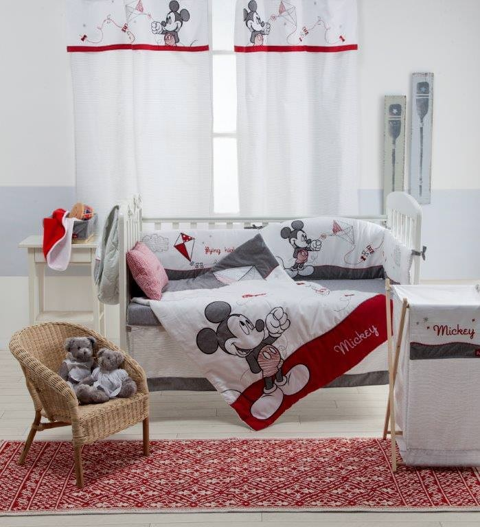 Baby Bedding Sets Red Minnie Mouse 4 Piece Crib Bedding Set Baby