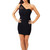 Black One shoulder Body Con Dress | Emprada