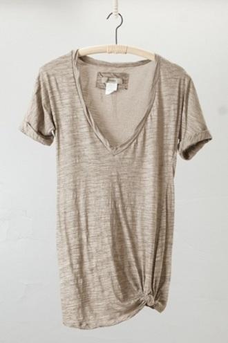 t-shirt basic casual grey t-shirt