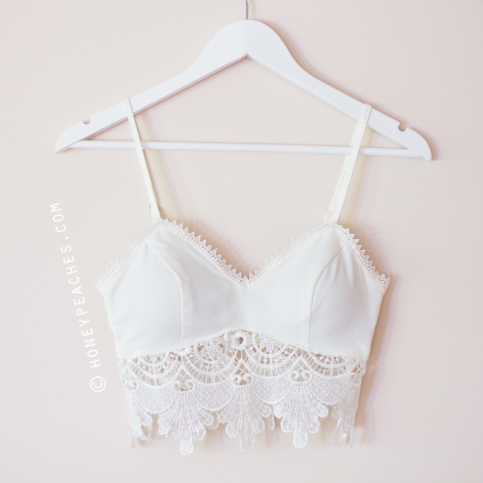 Summer Nights Crochet Crop Top - White – Honey Peaches