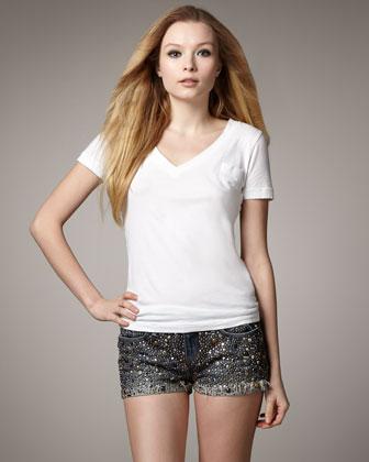 Joe's Jeans Studded Shorts, Valerie - Neiman Marcus