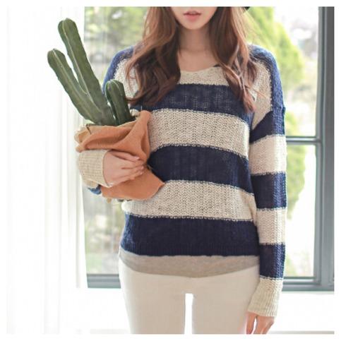 Stripe sweater from doublelw on storenvy