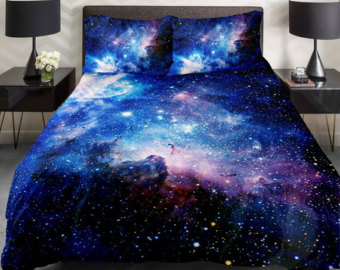 Popular items for galaxy duvet on Etsy