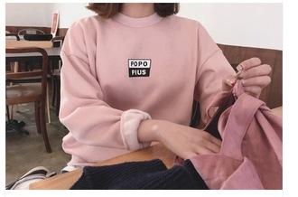 sweater popopius pink weheartit