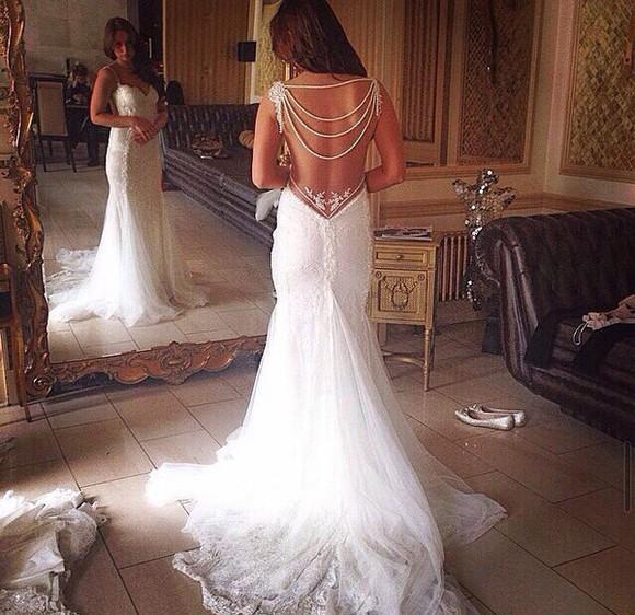 wedding dress white dress jewels prom dress
