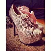 shoes,pink high heels,baby pink high heels,pink,high heels,pumps,ankle strap heels,bling shoes,bling,crystal,closed toe,heels,hight heels,red sole,shiny,sparkle