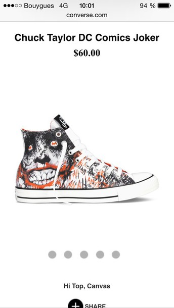 shoes joker converse joker smile