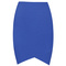 Blue suit skirt - bqueen blue simple wild front | ustrendy