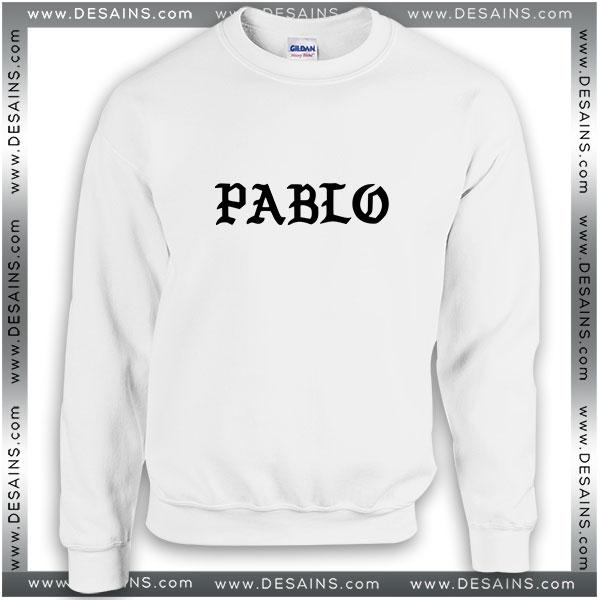 Sweatshirt Saint Pablo Kanye West Sweatshirt Womens Sweater Mens