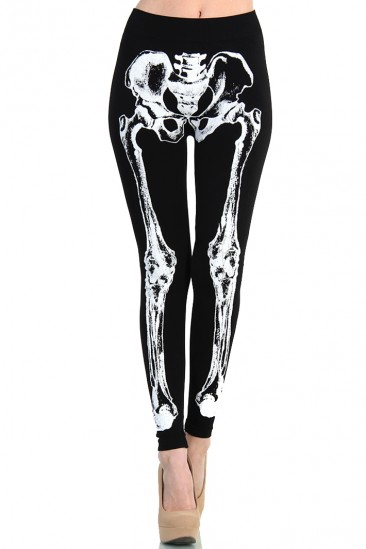 LoveMelrose.com From Harry & Molly | Skeleton bone leggings from Love Melrose