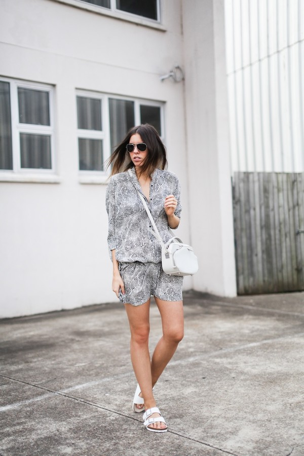 modern legacy shirt dress bag shoes sunglasses