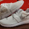 Nike roshe one run br white swarovski crystal rhinestone accent blinged out custom women