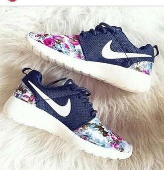 shoes nike roshe run nike nike running shoes nike roshe run floral