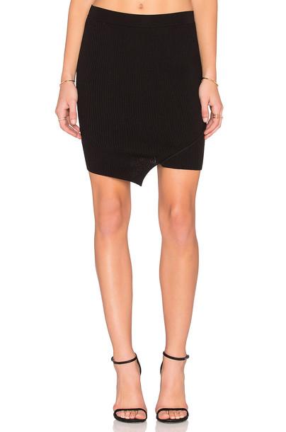 Central Park West skirt mini skirt mini black