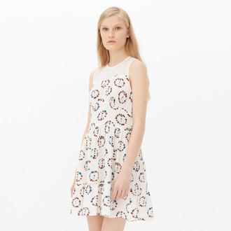 dress white dress sandro