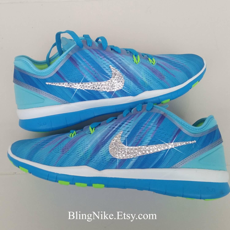 Bling Nike Free 5.0 TR FIT With Swarovski Crysral Rhinestones - Blibg ... b4fa7f310