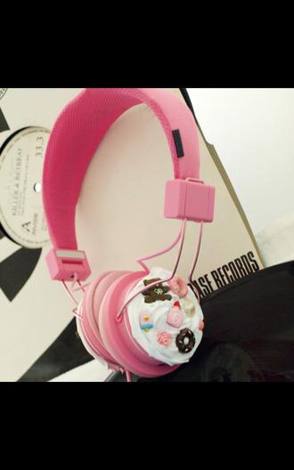 kawaii headphones earphones