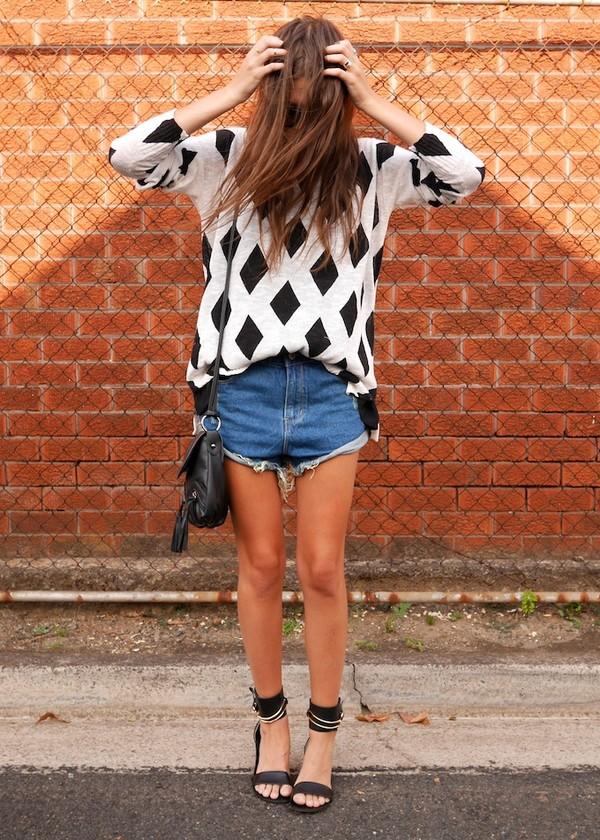 spin dizzy fall sweater shorts t-shirt bag shoes